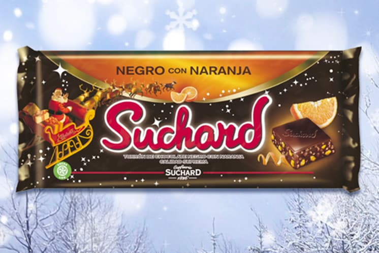 Black with Orange, Suchard's innovation for this Christmas